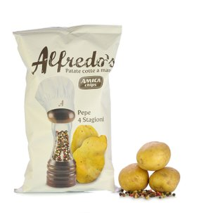 Pfeffrige Kartoffelchips 4 Jahreszeiten 150 g