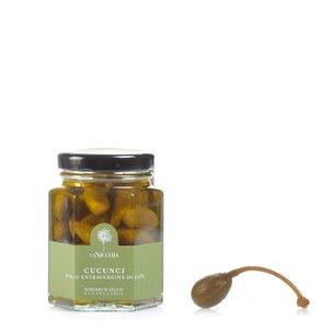 Cucunci in nativem Olivenöl extra 110 g