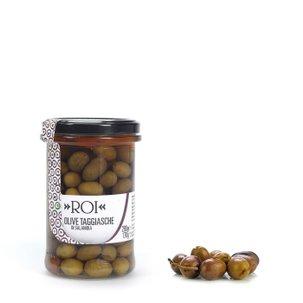 Schwarze Taggiasca-Oliven 190 g
