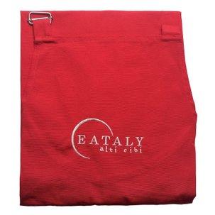 """Kochschürze Rot """"Italy is Eataly"""""""