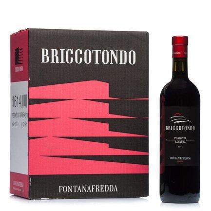 Briccotondo Barbera Doc 2014 0,75l 6 pz.