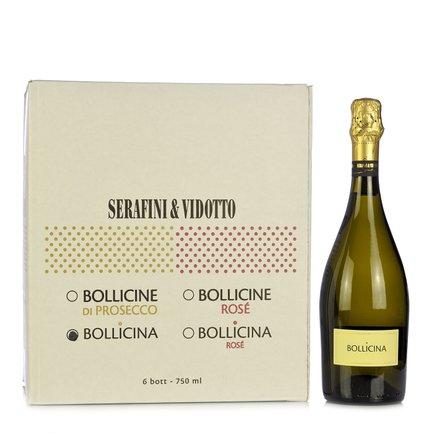 Bollicina 0,75l  6 pz.