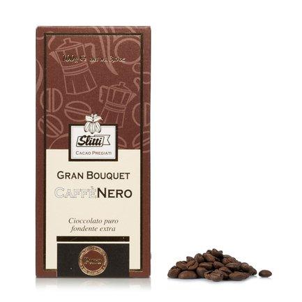 Tavoletta Gran Bouquet Caffé Nero 100g