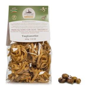 Tagliatelle all'Uovo con Olive Taggiasche 250g