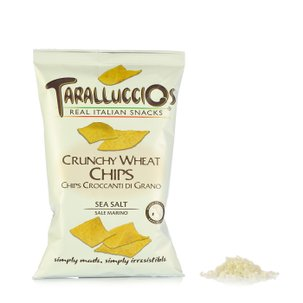 Chips Croccanti di Grano al Sale Marino 120g