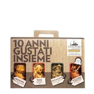 Confezione Anniversario Antignano 4x250g
