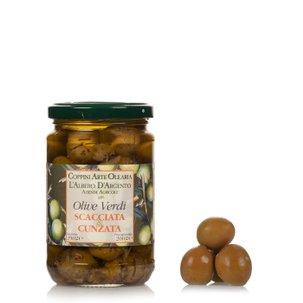 Olive Scacciate Cunsate 290g