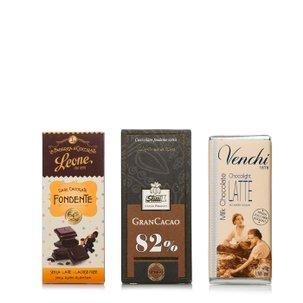 Degustazione tutti i tipi di cioccolato