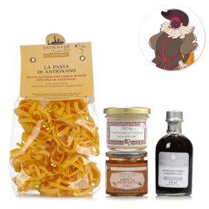 Il kit di Balanzone e le delizie dell'Emilia Romagna