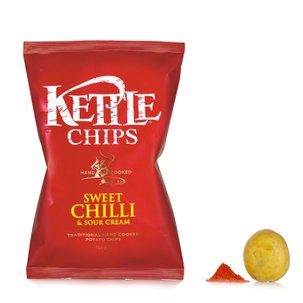 Chips al Peperoncino dolce 150g