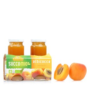 Succomio Apricot Juice 2x200 ml