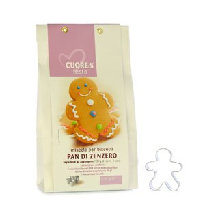 Mix for Pan di Zenzero Biscuits 230g