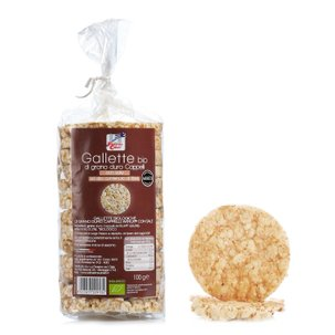 Organic Durum Wheat Cakes 100g