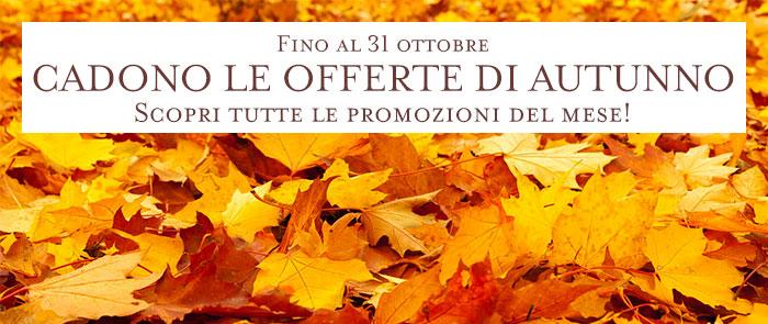 Promozioni ottobre 2015