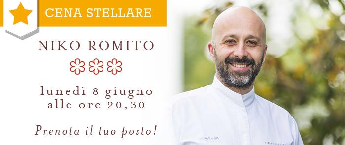 Cena stellare Niko Romito