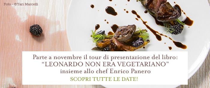 Leonardo non era vegetariano - Tour presentazione
