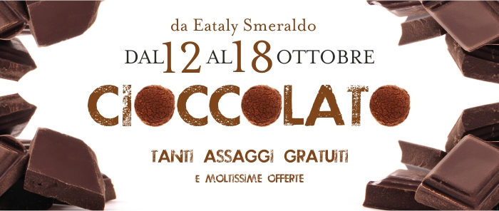 La settimana del cioccolato di Eataly