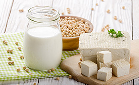 I latticini e gli yogurt