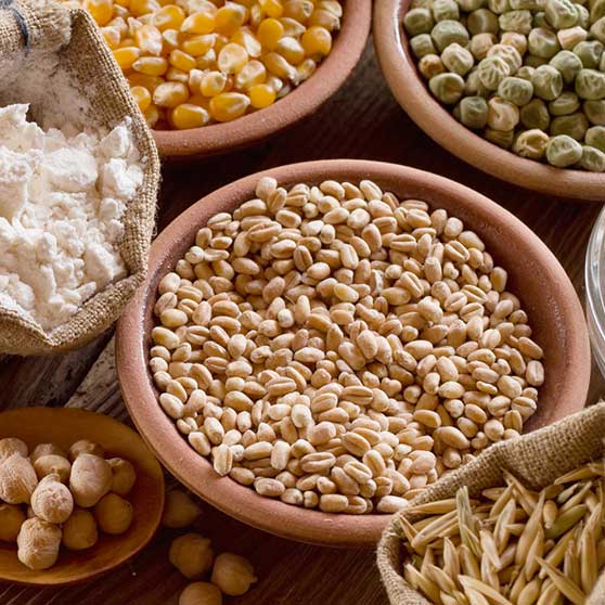 I cereali e i legumi