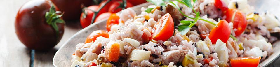 Insalate di riso e di pasta