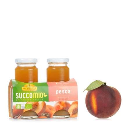 Succomio Peach Juice 2x 200ml