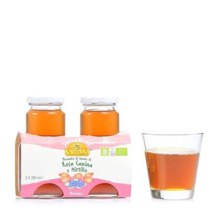 Succobene Wildrose and Cranberry Juice 2x 200ml