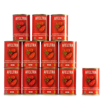 S.Marzano Tomatoes 400g 24 pcs.