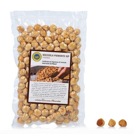 Toasted Piedmont Hazelnuts IGP 200g