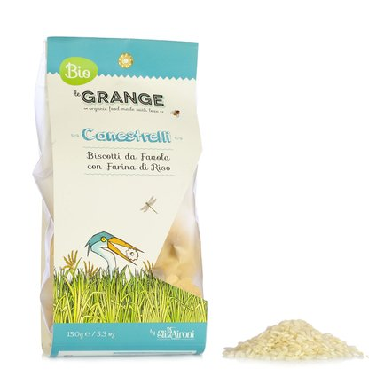 Le Grange Organic Canestrelli Biscuits 150g