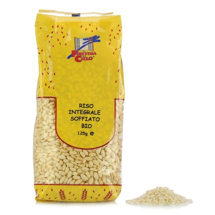 Organic Puffed Brown Rice 125g