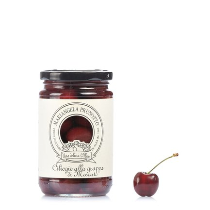 Cherries in Moscato Grappa 330g