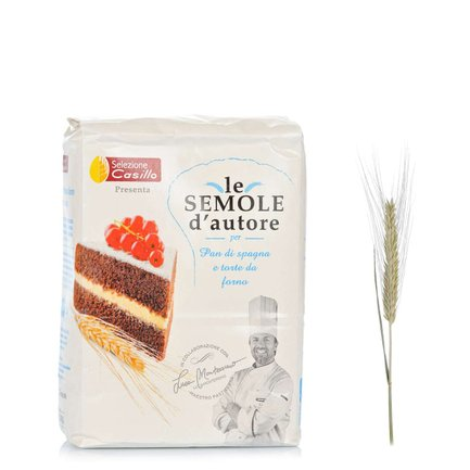 Durum Wheat Semolina for Cakes 1kg