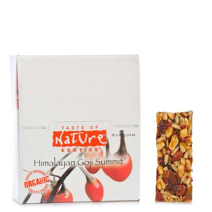 Organic Goji Berry Bar 40 g 16 pcs