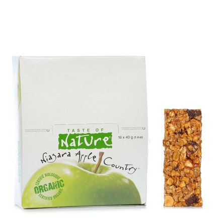 Organic Apple Bar 40 g 16 pcs