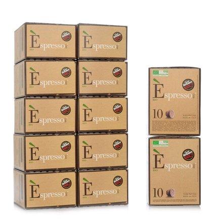 Espresso Bio 10 organic coffee capsules 12 pcs