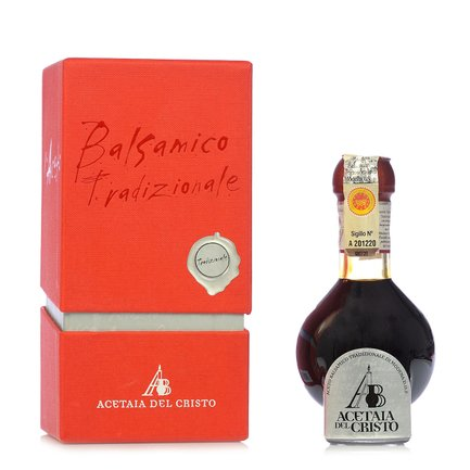 Traditional Balsamic Vinegar from Modena DOP 100ml