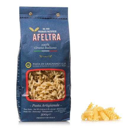 Tortiglioni 100% Italian Wheat 0.5kg