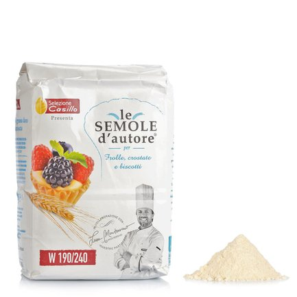 Durum Wheat Semolina for Pastries, Tarts and Biscuits 1kg