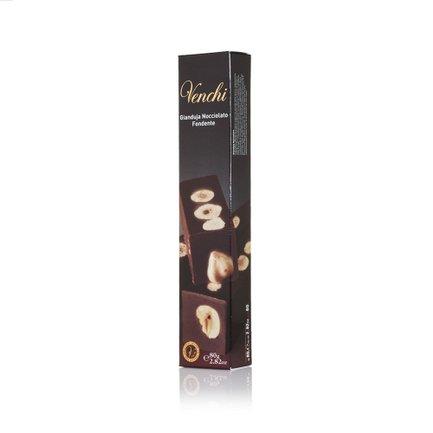 Hazelnut Dark Chocolate Gianduja Bar 80g