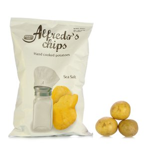 Crisps with Sea Salt 150g