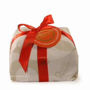 Apricot and white chocolate panettone 750g