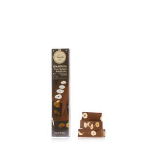 Hazelnut Dark Chocolate Gianduja Bar 80g