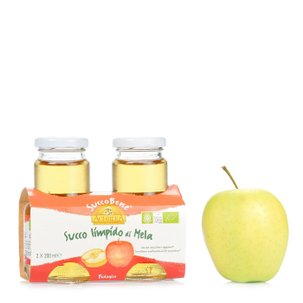 Succobene Clear Apple Juice 2x200 ml