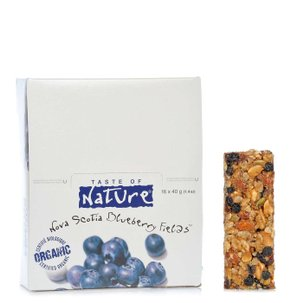 Organic Blueberry Bar 40 g 16 pcs