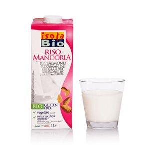 Bevanda di Riso e Mandorla Bio 1l