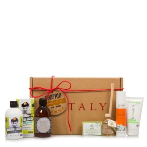 Beauty gift basket for body care