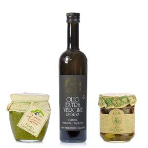 Liguria: Olive e basilico