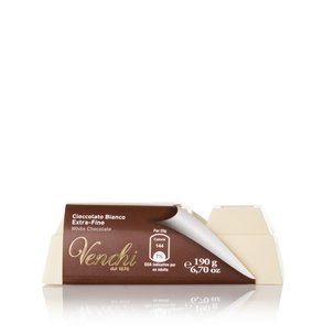 Extra Fine White Chocolate Block 190g