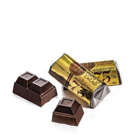 Bloc de chocolat Cuor di Cacao 75 % 185 g