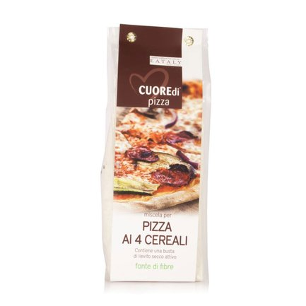 Mélange pour pizza 4 céréales 500 g